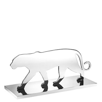 Silver Decorative Object | Eichholtz Panther Silhouette