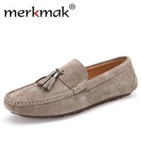 Soft Moccasins Men Loafers