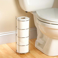 Walmart: Zenith Products Wire Toilet Paper Storage, Chrome