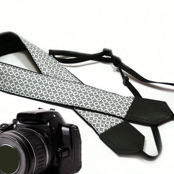 Original design Camera Strap. Graphic design. DSLR / SLR Camera Strap.  For Sony, canon, nikon, panasonic, fuji and other cameras.