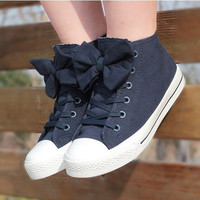 00-Bow Canvas Shoes-554 from wordkkkh