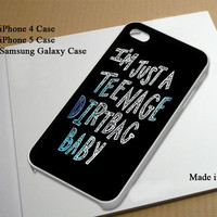 Wheatus Lyric Best Seller Phone Case on Etsy for iPhone 4, iPhone 4s, iPhone 5 , Samsung Galaxy s3 and Samsung Galaxy s4