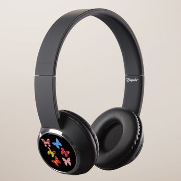 Black Butterfly Headphones