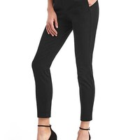 Bi-stretch skinny high rise ankle pants | Gap