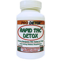 Rapid THC Detox and Body Cleanse - 2 Days to Cleanse Formula
