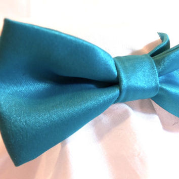 RockinDogs Custom Satin Dog Bow Tie or Cat Bow Tie-Match you Wedding colors.