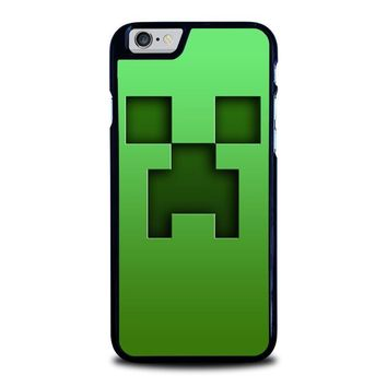 creeper minecraft iphone 6 6s case cover  number 1