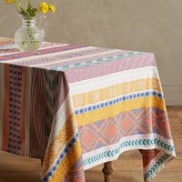 Sonora Tablecloth by Anthropologie in Multi Size: Small Tablecloth Kitchen
