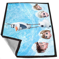 disney frozen 15 7725ceb7-3ea9-45fe-8784-fbef92c1f27a for Kids Blanket, Fleece Blanket Cute and Awesome Blanket for your bedding, Blanket fleece *02*