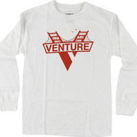 Venture Golden Gate Longsleeve Large White/Red