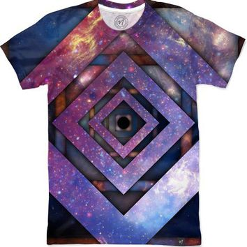 Twisted Galaxy Men's T-Shirts by Bethany Bailey   Nuvango