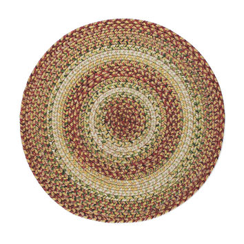 "Homespice Decor Tuscany Stain Proof Trivet Runner 15"""" x 15"""" Round"
