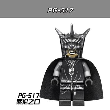 20pcs/lot PG517 Mouth of Sauron  Lord of the Rings Building Blocks Toys Kid Gift PG8036