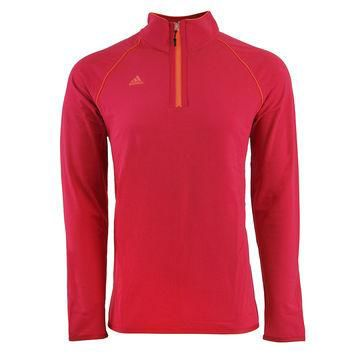 adidas Men's Puremotion Tour Flex Rib 1/4 Zip Layering Top