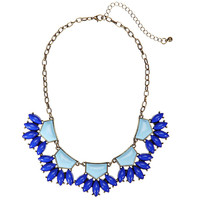 Blue Jewel Drop Choker Necklace not available