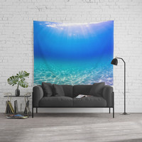 One Deep Breath Wall Tapestry by Nicklas Gustafsson