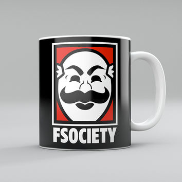 F Society Mr Robot Mug