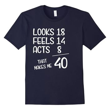 Funny 1977 40th Years Old Birthday Gift T-Shirt