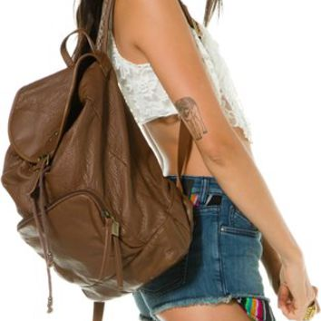 BILLABONG HIPPIE FAUX LEATHER BACKPACK | Swell.com
