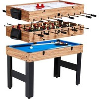 3-in-1 Swivel Hockey, Table Tennis, Bowling, Billiard, Pool Game Room Game Table