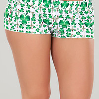 St. Patricks Day Pajama Shorts