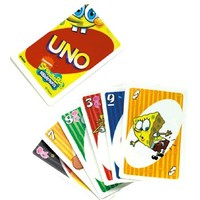 Spongebob Squarepants Uno Card Game by Mattel