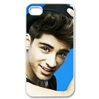 CTSLR Music & Singer Series Protective Hard Case Cover for iPhone 4 & 4S - 1 Pack - One Direction - Zayn Malik 20