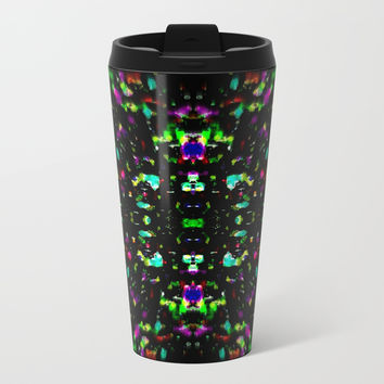 Vibrational Matter Metal Travel Mug by Phinilez