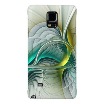Fractal Evolution, abstract Art Galaxy Note 4 Case