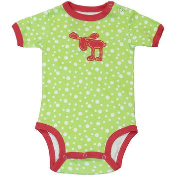 Dotty Moose Baby One Piece