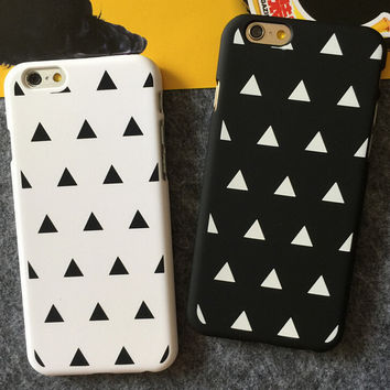 Triangle iPhone 5s 6 6s Plus creative case Gift-102