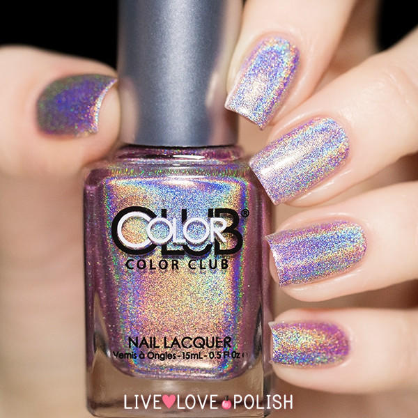 Who Sells Color Club Nail Polish: Color Club Cloud Nine Nail Polish (Halo From Live Love Polish