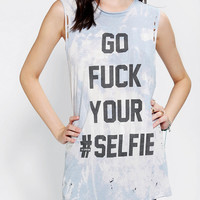 Urban Outfitters - The Laundry Room X UO F# Your Selfie Muscle Tee
