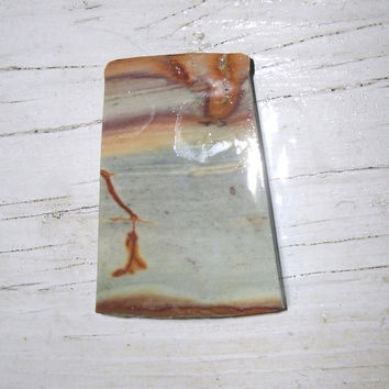 Crayola Jasper slice, preform, cabbing, jewelry stones, wire wrapping stones, pastel semi precious Jasper, mixed colors, rectangle piece