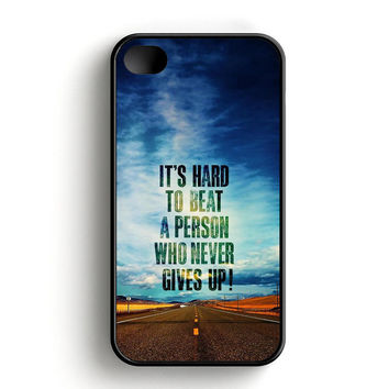 Hard To Beat A Person iPhone 4 | 4S Case
