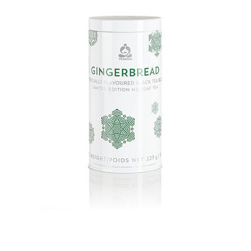Limited Edition Gingerbread Tea and Tea Tin at Teavana | Teavana