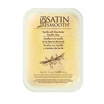 Satin Smooth Vanilla With Shea Butter Paraffin Wax 16 oz