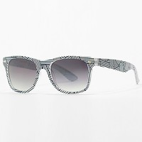 Women's Blue Angle Sunglasses in Blue/White by Daytrip.