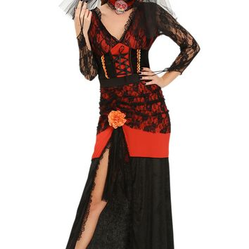 Chicloth Day of The Dead Diva Halloween Costume