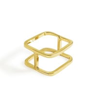 Double Layer Square Ring
