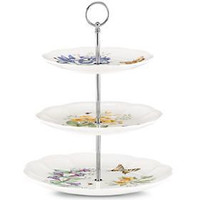Butterfly Meadow® 3-Tiered Server by Lenox
