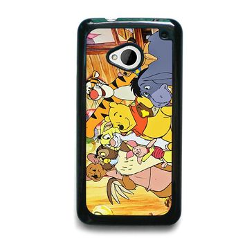 WINNIE THE POOH AND FRIENDS Disney HTC One M7 Case Cover