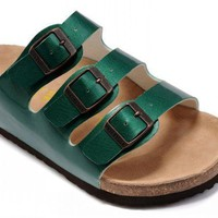 Birkenstock Florida Sandals Green