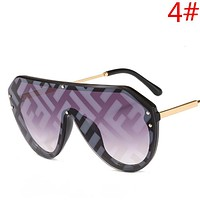Fendi Women Men Fashion New More Letter Travel Sunscreen Leisure Eyeglasses Glasses