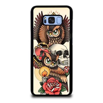 OWL STEAMPUNK ILLUMINATI TATTOO Samsung Galaxy S8 Plus Case Cover