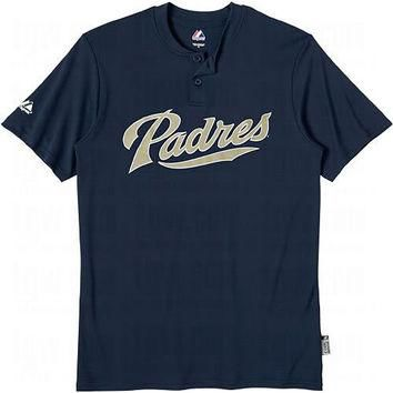 San Diego Padres (YOUTH SMALL) Cool Base Moisture Management Two-Button MLB Officially