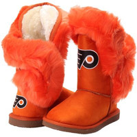 """PHILADELPHIA FLYERS WOMEN'S CUCE OFFICIAL NHL """"CHAMPIONS"""" BOOTS"""