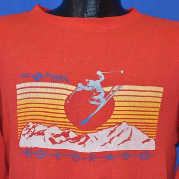 80s Vail Beaver Creek Colorado Distressed Sweatshirt Medium