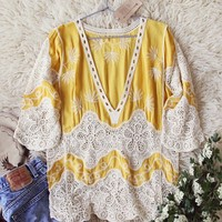 Honey + Lace Tunic Top