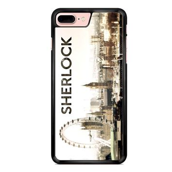 Sherlock Holmes Wallpaper iPhone 7 Plus Case